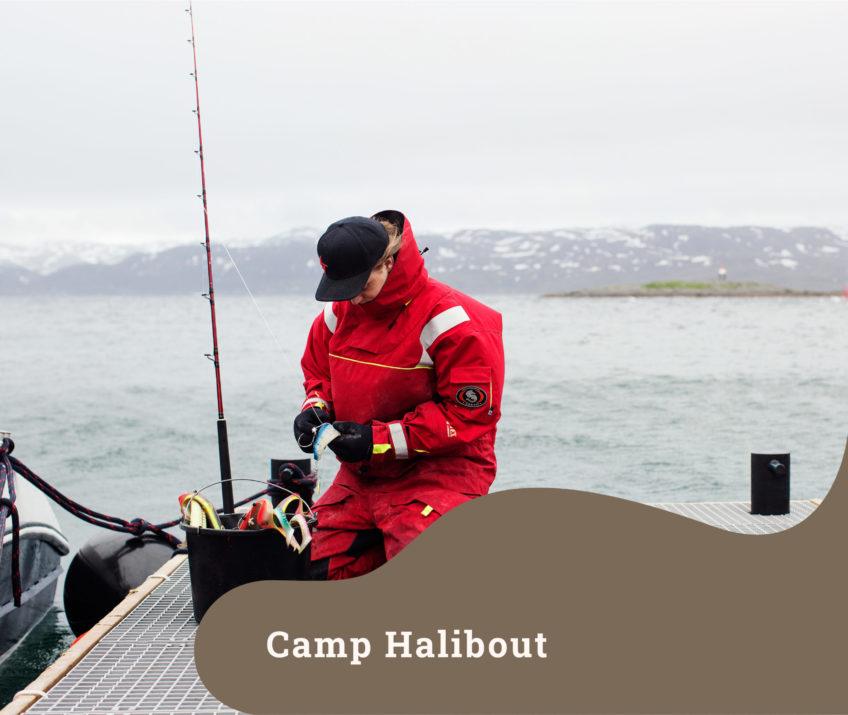 Camp halibout